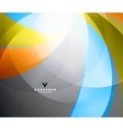 Rainbow shiny abstract design template vector