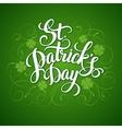 St patricks day greeting vector