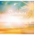 Summer calligraphic design template vector