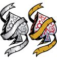 Ace of spades tattoo vector