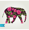 Cartoon elephant vector
