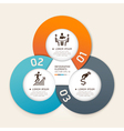 Business infographics elements circle vector