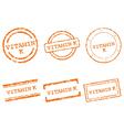 Vitamin k stamps vector