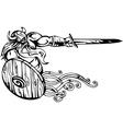 Nordic viking -  vinyl-ready vector