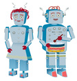 Robot couple vector
