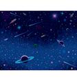 Horisontal cosmic background vector