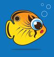 Butterflyfish cartoon vector