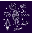 Space objects vector