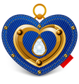 Jewelry heart vector