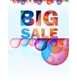 Abstract splash big sale card  eps10 vector