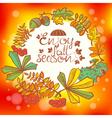 Fall season vector