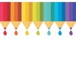 Set of colored pencil vector