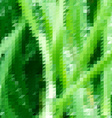 Grass themed background with triangular grid vector