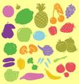 Fruits digital clipart vector