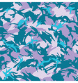 Blue city camouflage seamless pattern vector