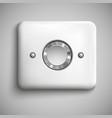 Metal buttons vector