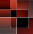 Red mosaic background in vector