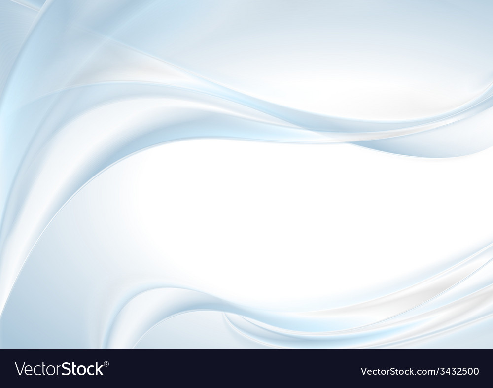 Abstract shiny light blue wave background vector | Price: 1 Credit (USD $1)