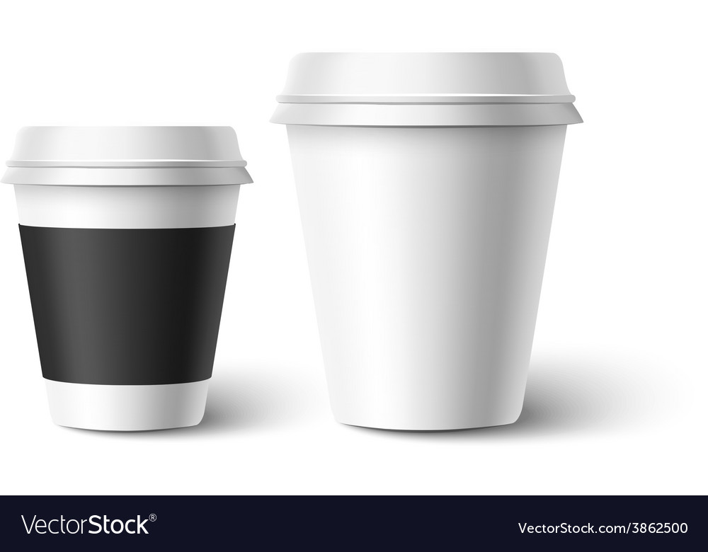 Cups of coffee vector | Price: 3 Credit (USD $3)