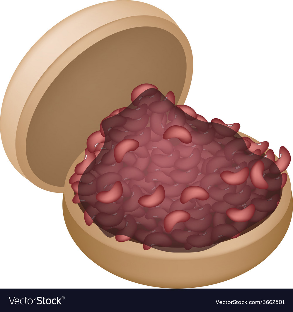 Apanese sweet of a monaka crisp wafers vector | Price: 1 Credit (USD $1)