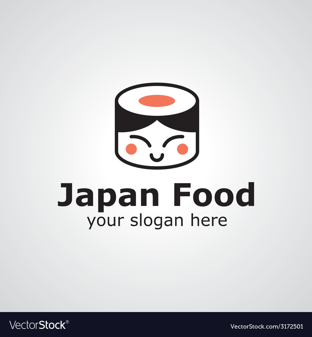 Japan food logo vector | Price: 1 Credit (USD $1)