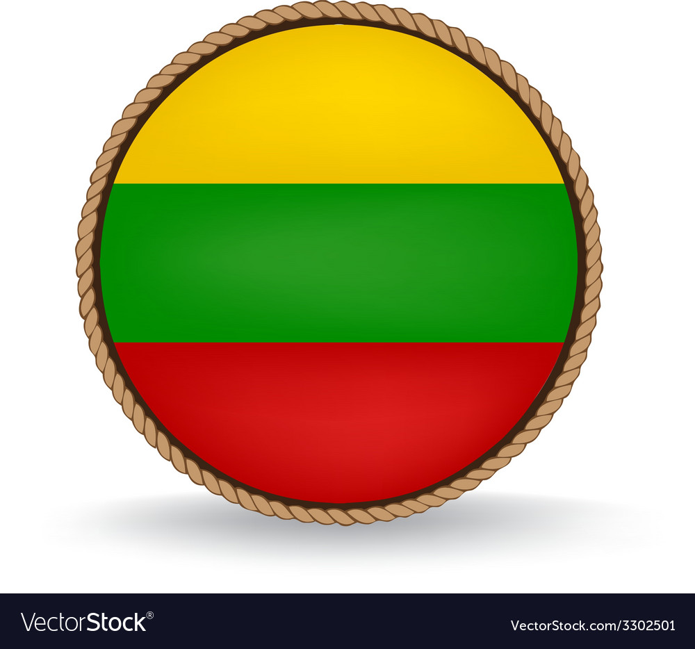 Lithuania seal vector | Price: 1 Credit (USD $1)