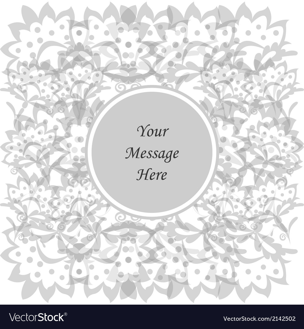 Abstract flowers vector | Price: 1 Credit (USD $1)