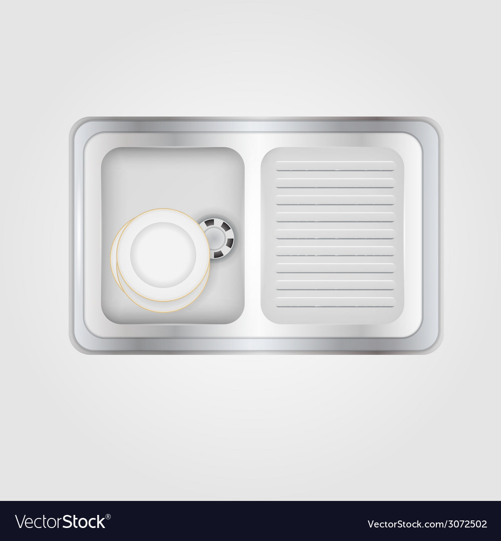 Kitchen sink vector | Price: 1 Credit (USD $1)