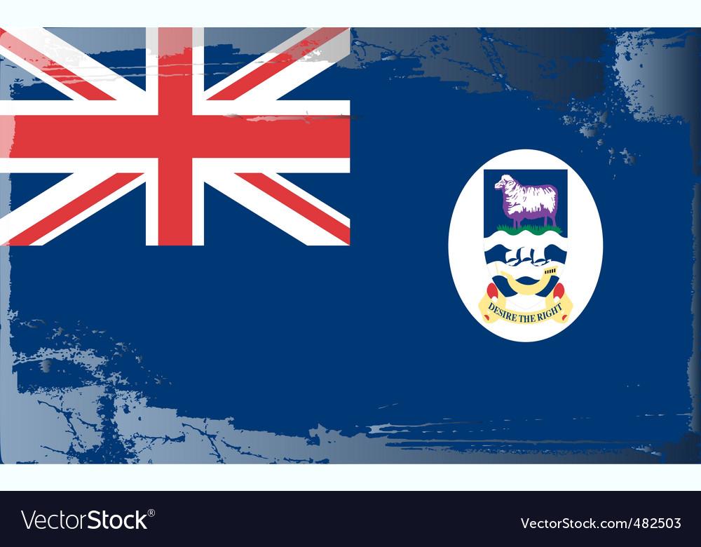 Falkland islands national flag vector   Price: 1 Credit (USD $1)