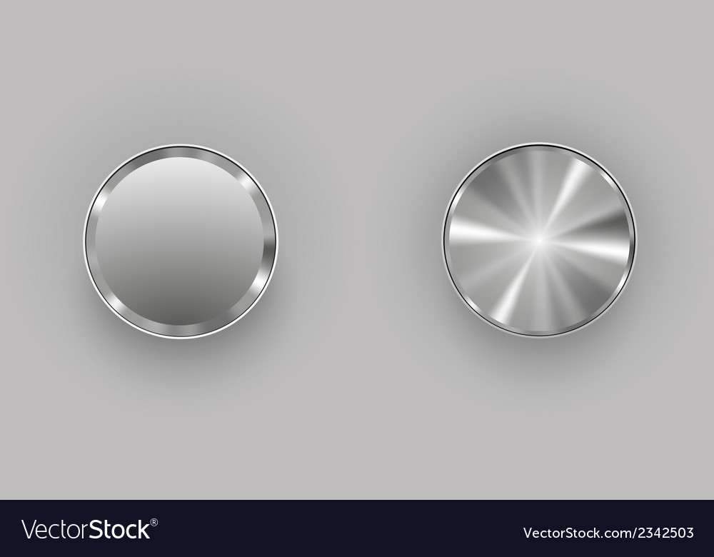 Metal buttons vector | Price: 1 Credit (USD $1)