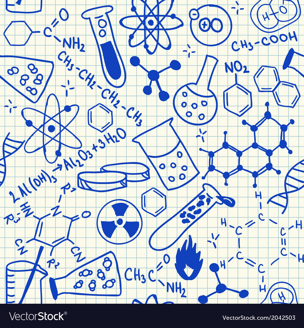 Science drawings vector | Price: 1 Credit (USD $1)