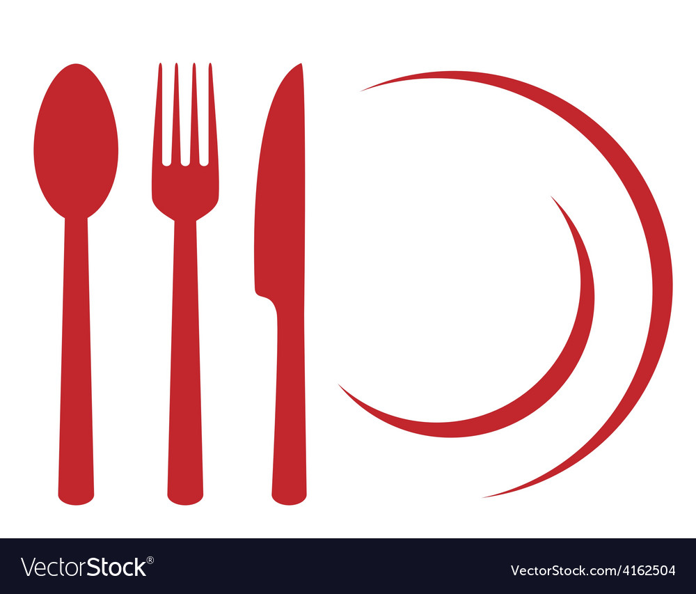 Restaurant symbol vector | Price: 1 Credit (USD $1)