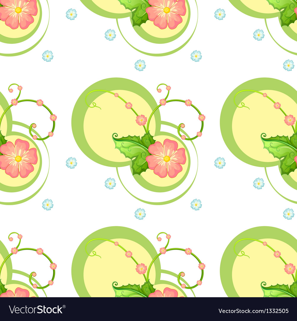 A flowery design vector | Price: 1 Credit (USD $1)