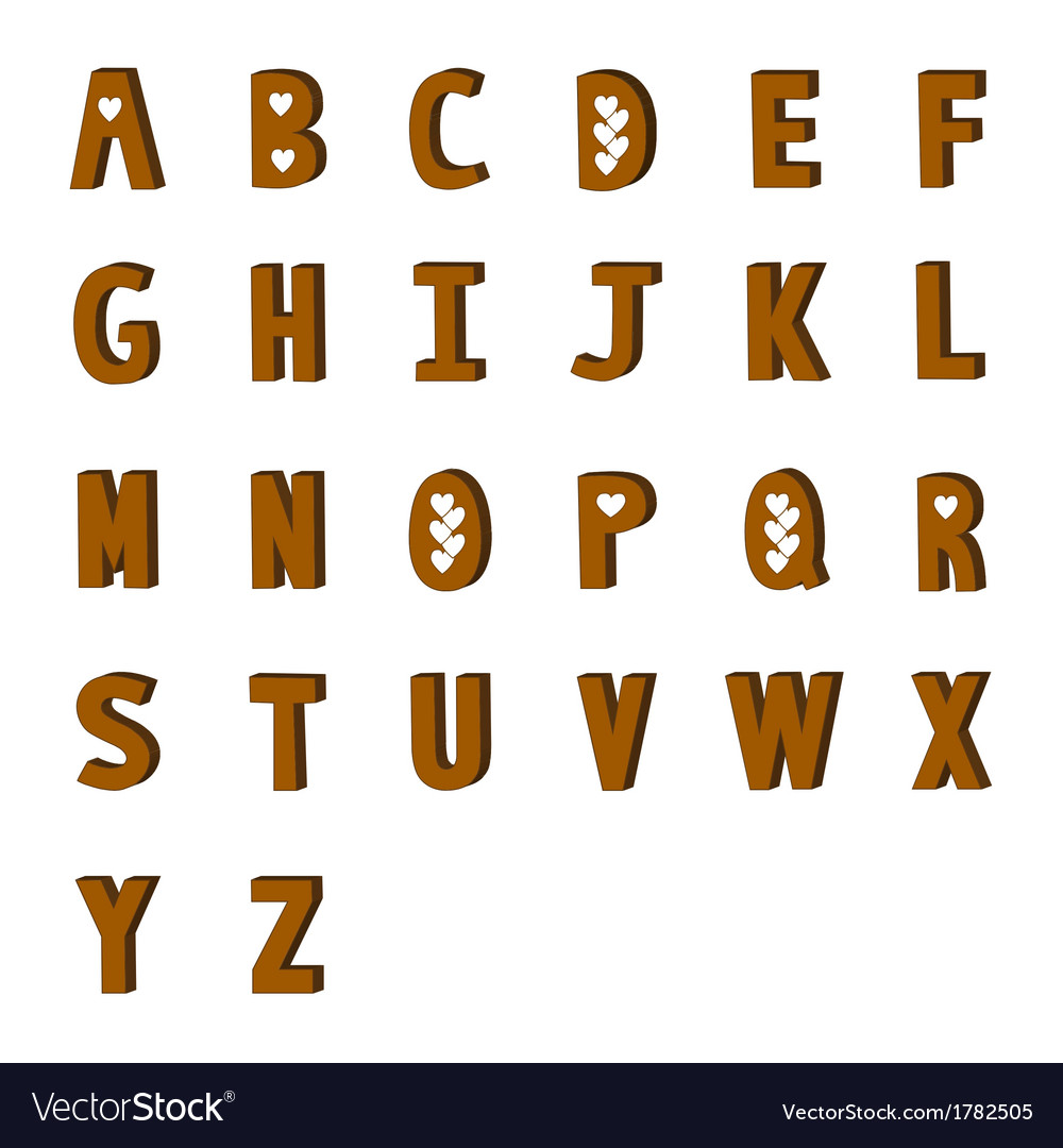 A to z vector | Price: 1 Credit (USD $1)