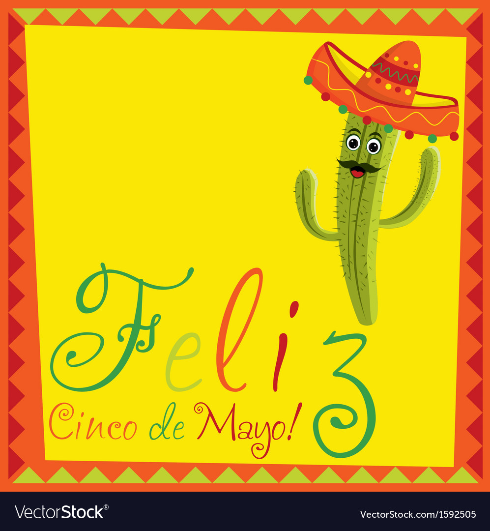 Cino de mayo vector | Price: 1 Credit (USD $1)