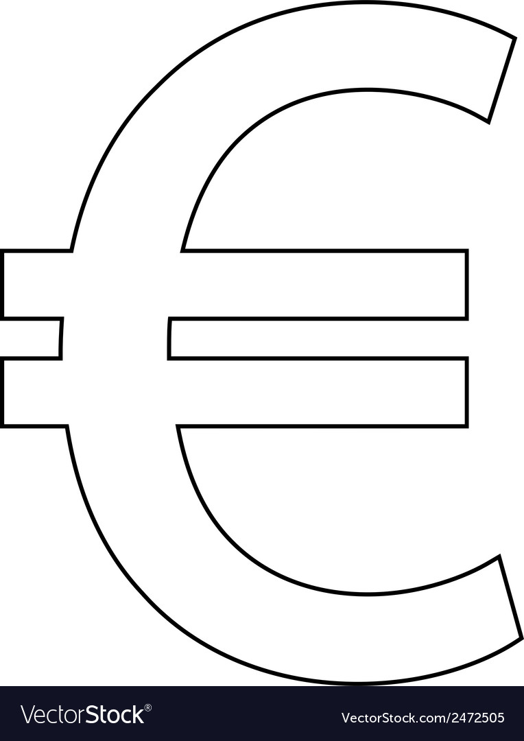 Euro vector | Price: 1 Credit (USD $1)