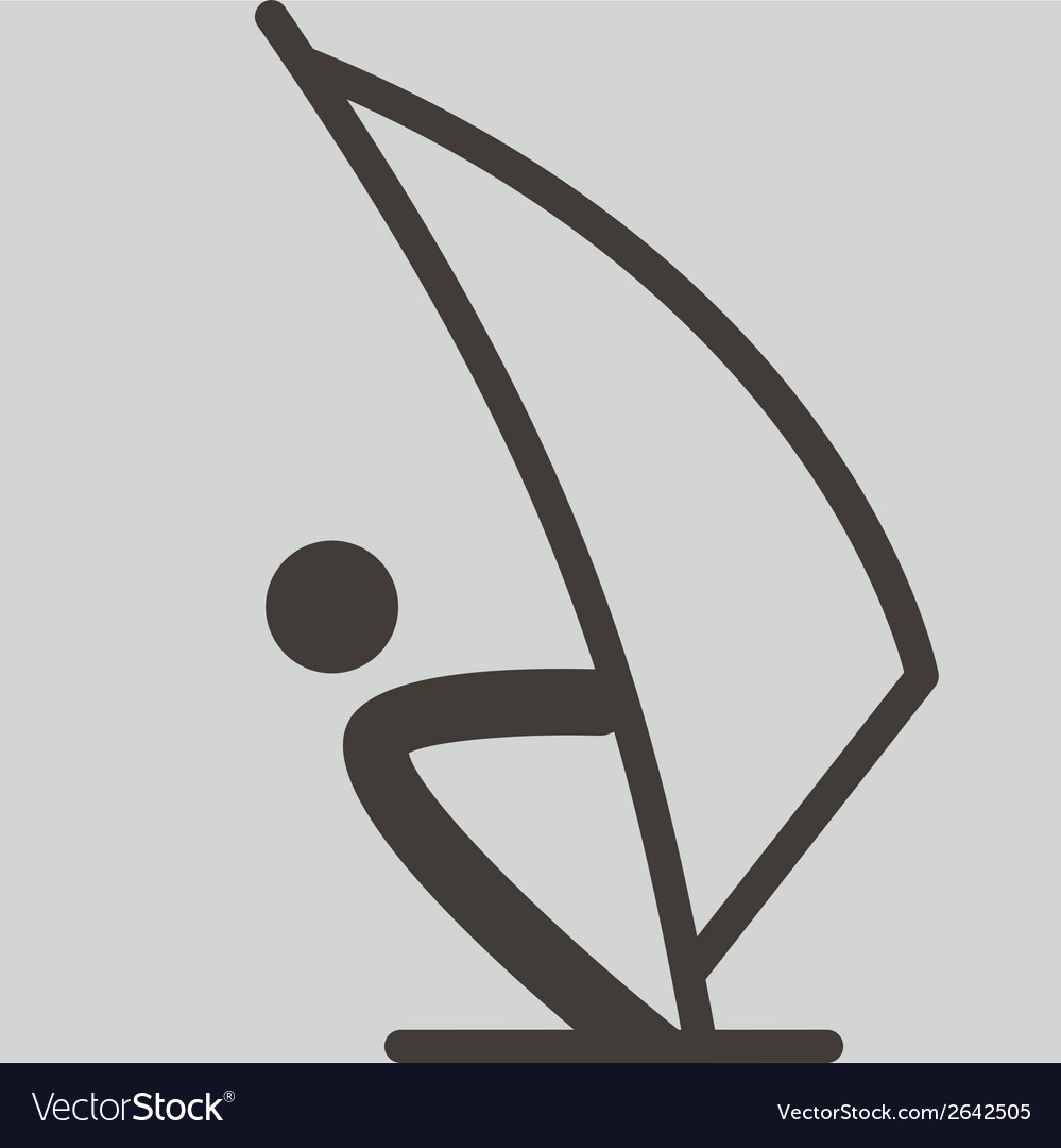 Sailing icon vector | Price: 1 Credit (USD $1)