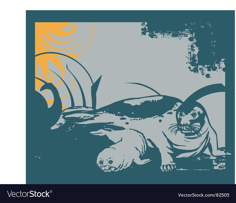 Seal vector | Price: 1 Credit (USD $1)