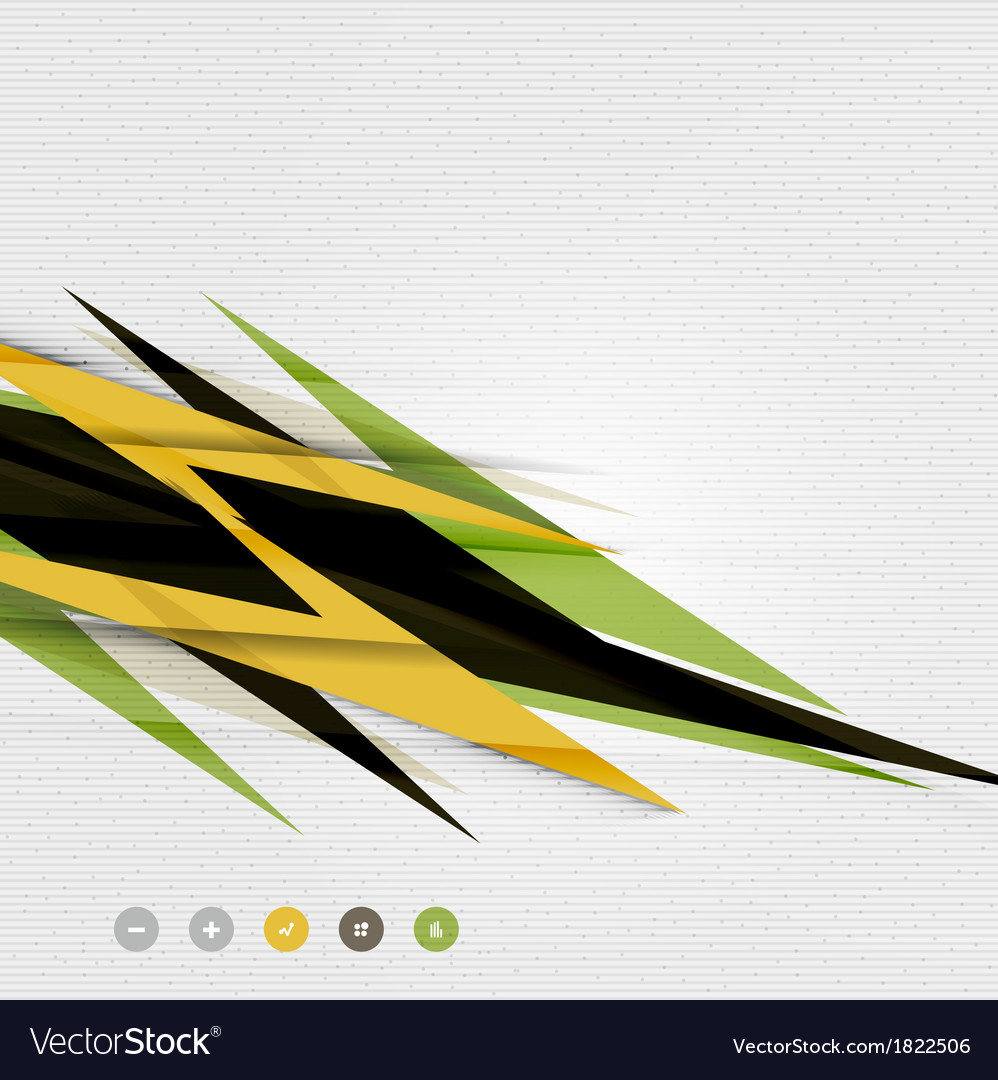 Colorful abstract technology lightning shapes vector | Price: 1 Credit (USD $1)