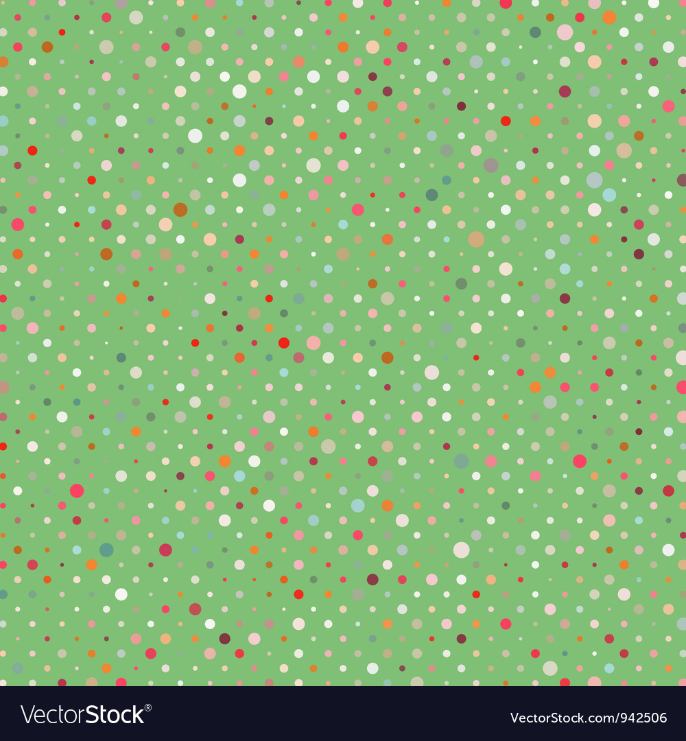 Polka dots pattern background vector | Price: 1 Credit (USD $1)