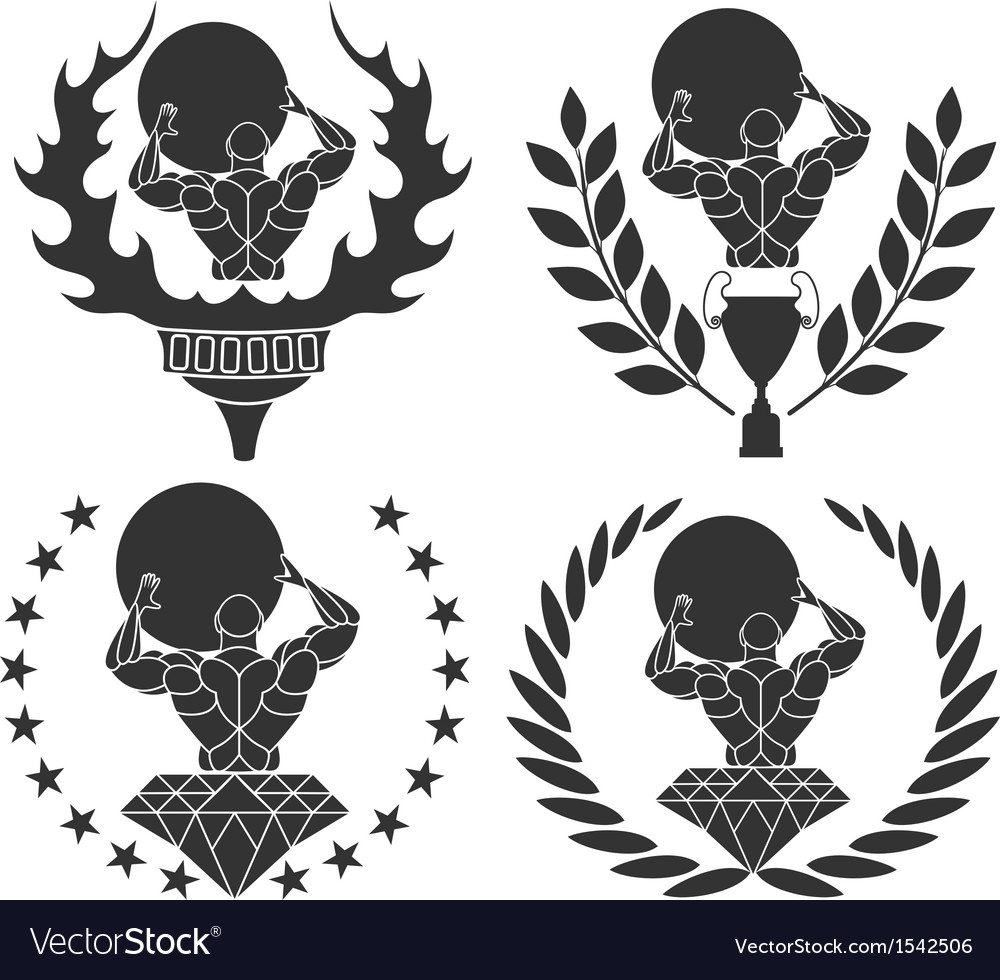 Strongmen vector | Price: 1 Credit (USD $1)