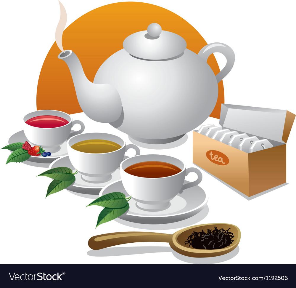 Tea icon vector | Price: 3 Credit (USD $3)