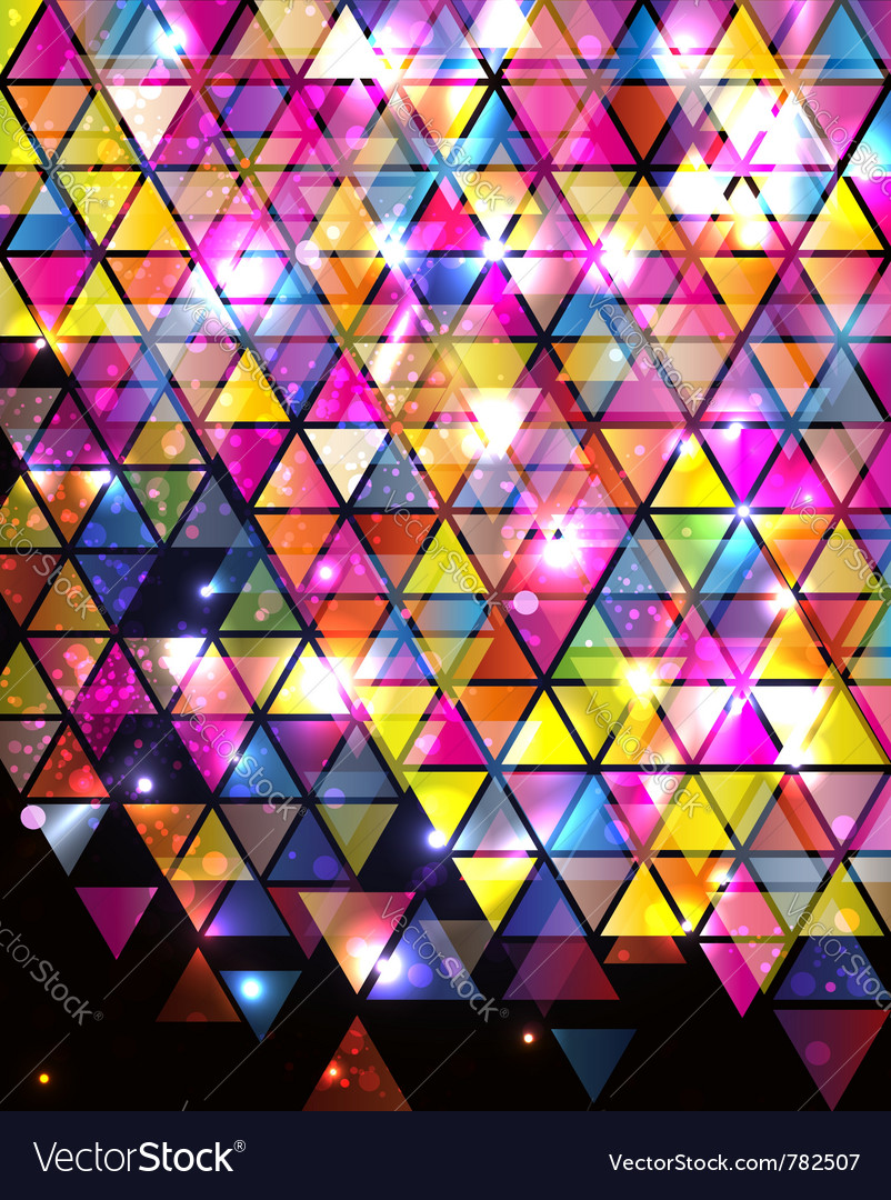 Abstract triangle pattern vector | Price: 1 Credit (USD $1)