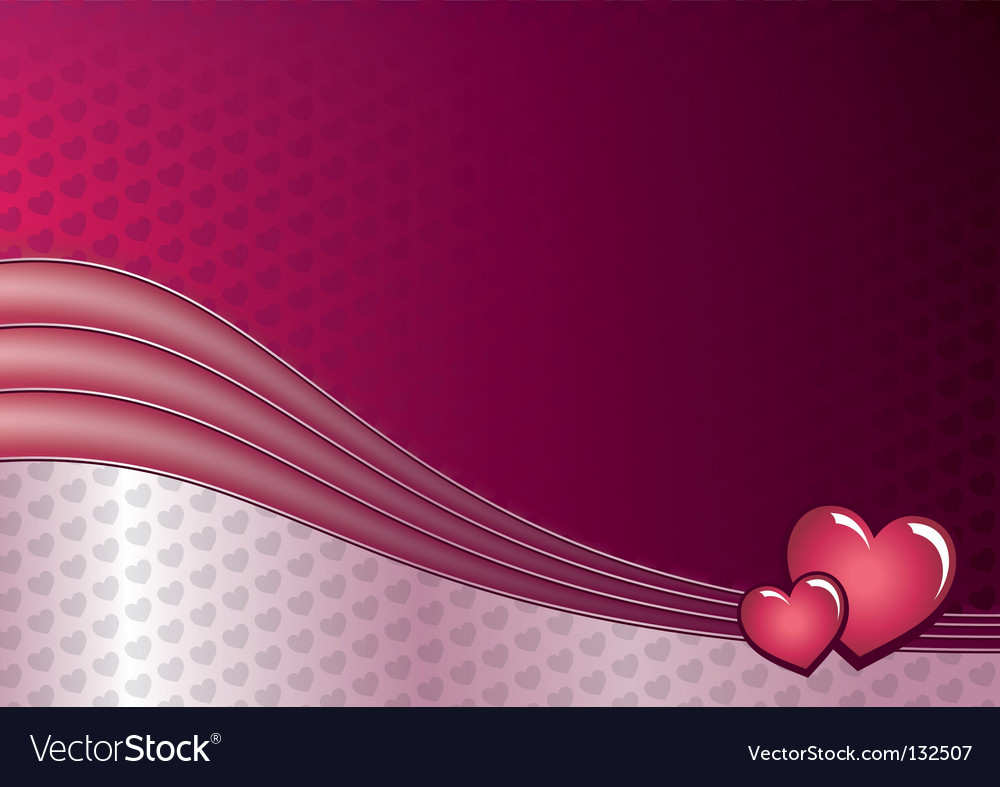 Love and hearts background vector | Price: 1 Credit (USD $1)