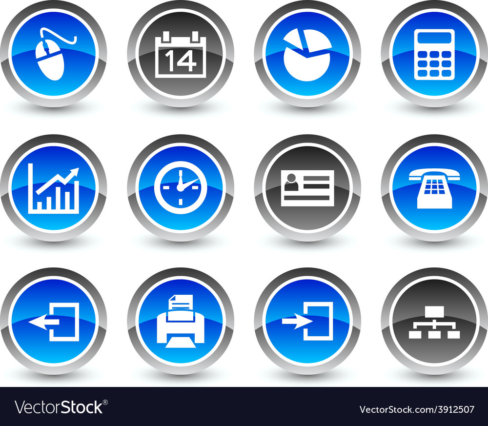 Office icons vector   Price: 1 Credit (USD $1)