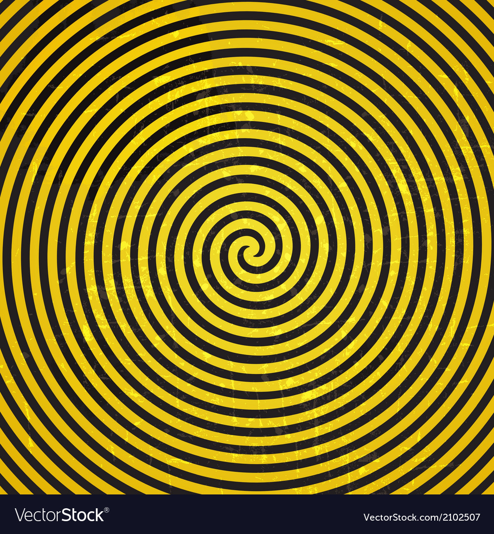 Retro vintage grunge hypnotic background vector | Price: 1 Credit (USD $1)