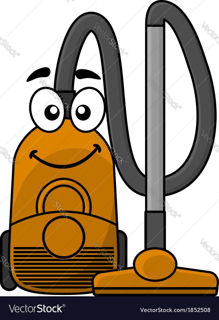 Cute cartoon vacuum cleaner vector | Price: 1 Credit (USD $1)