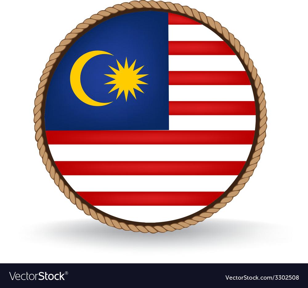 Malaysia seal vector | Price: 1 Credit (USD $1)