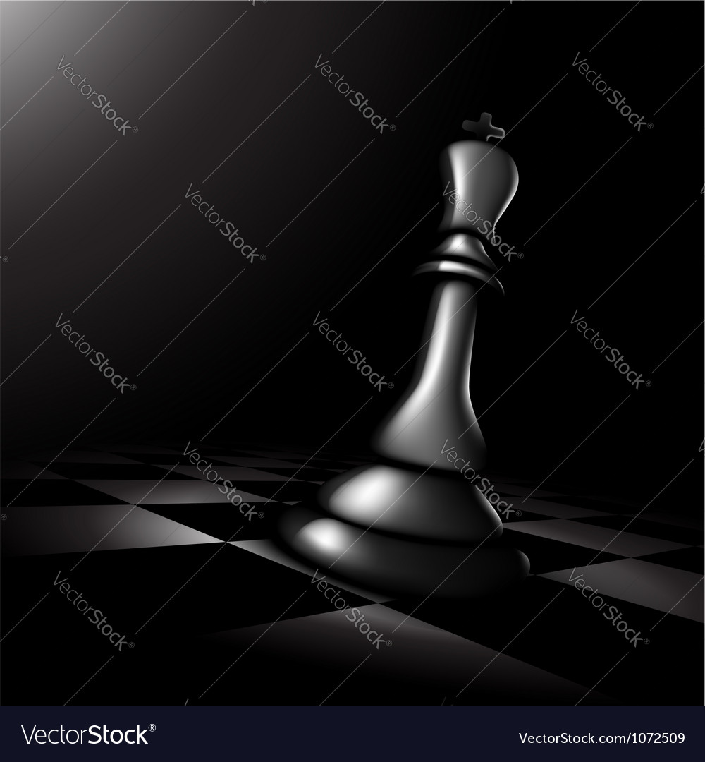 Chess king vector | Price: 1 Credit (USD $1)