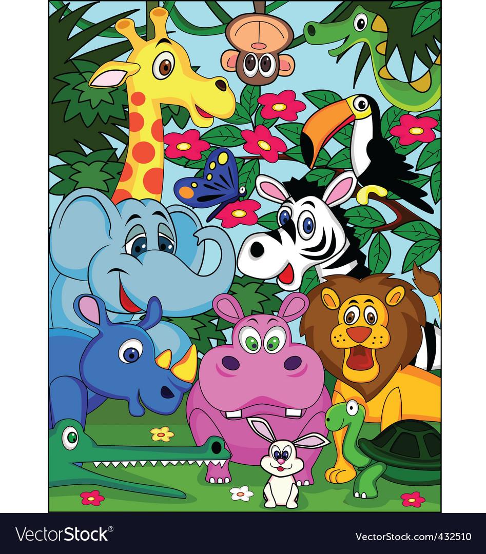 Animal cartoon vector   Price: 3 Credit (USD $3)